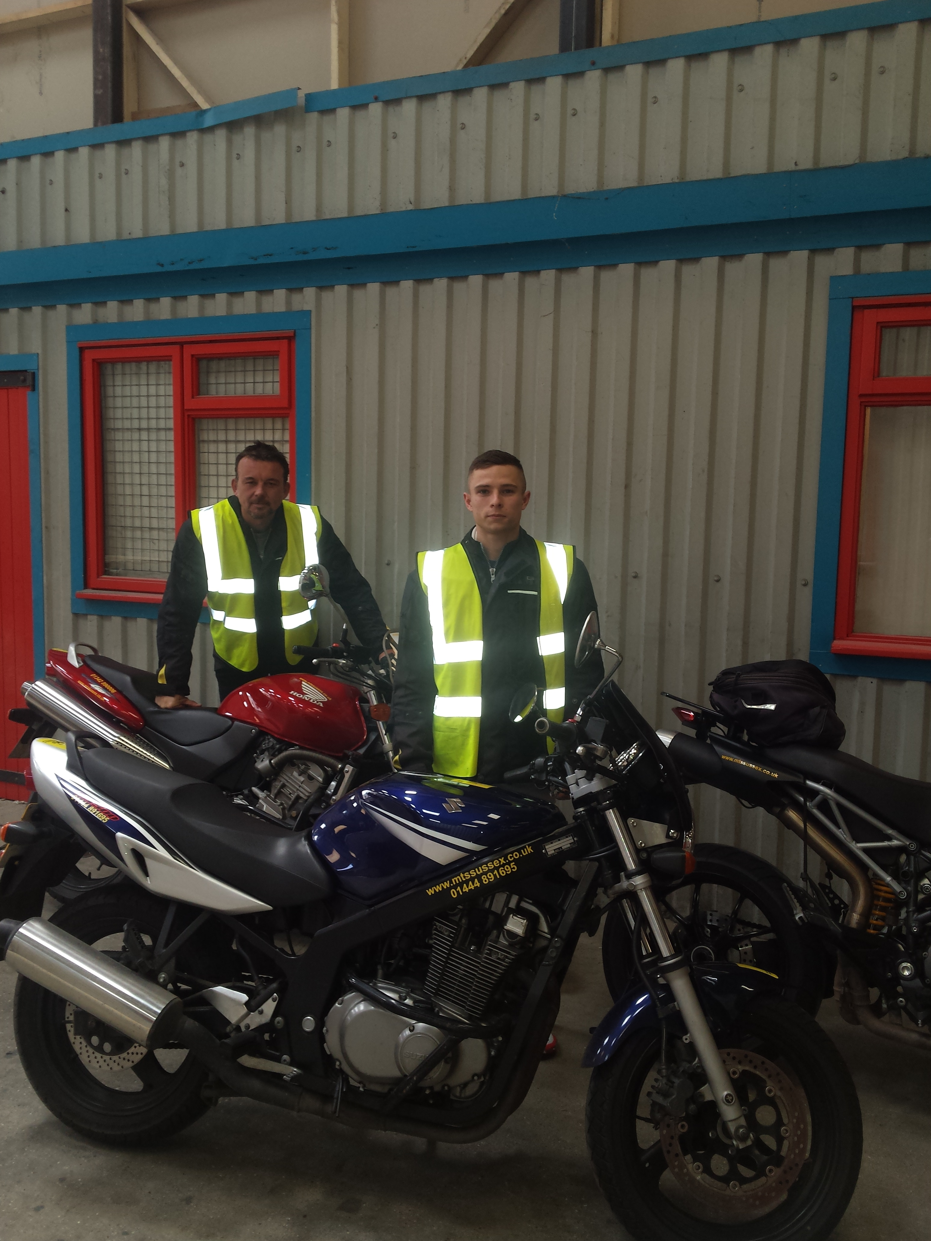 East Sussex motorbike riders gain another 2!