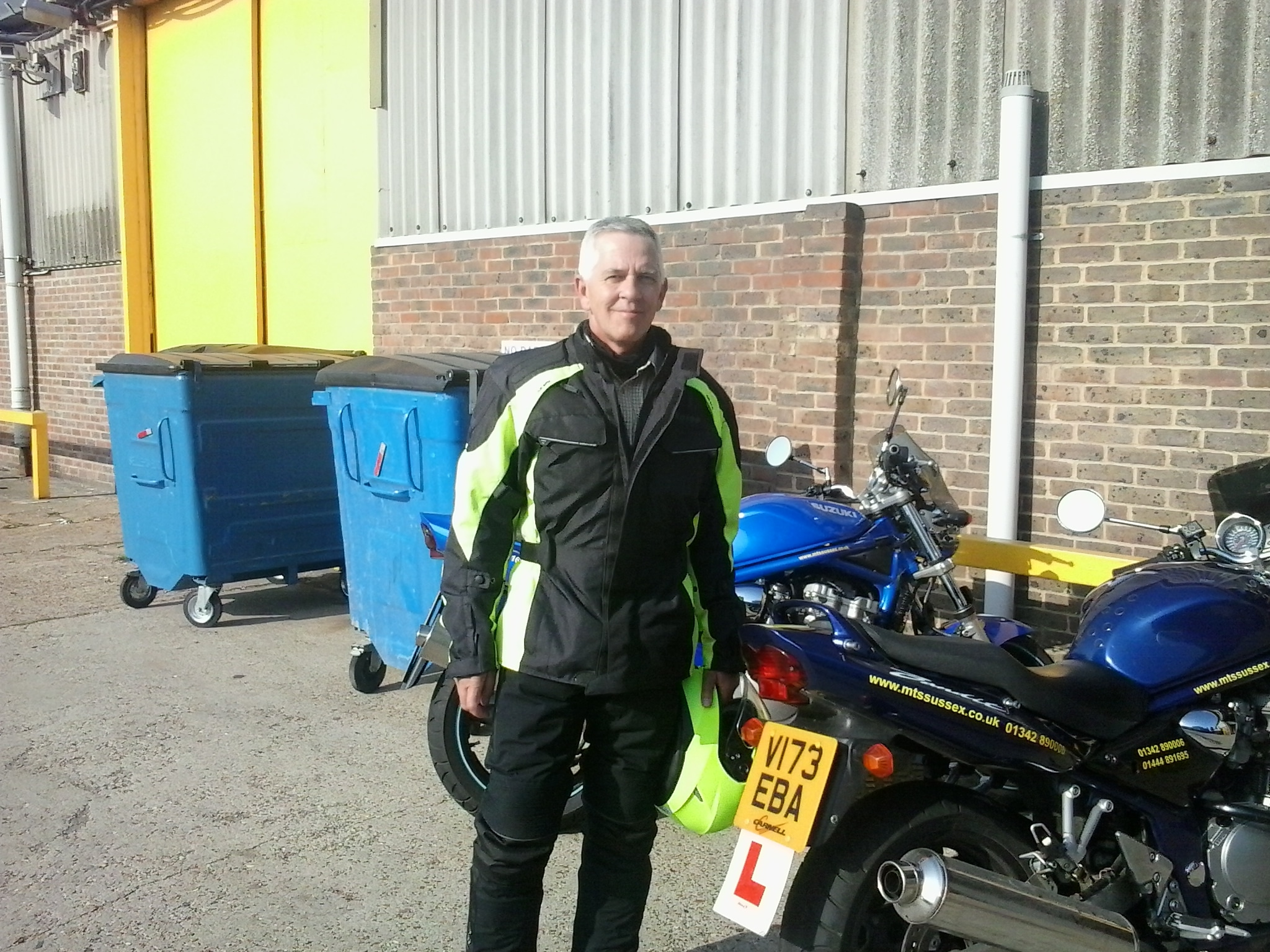 From taster session to CBT to DAS pass for Neil!