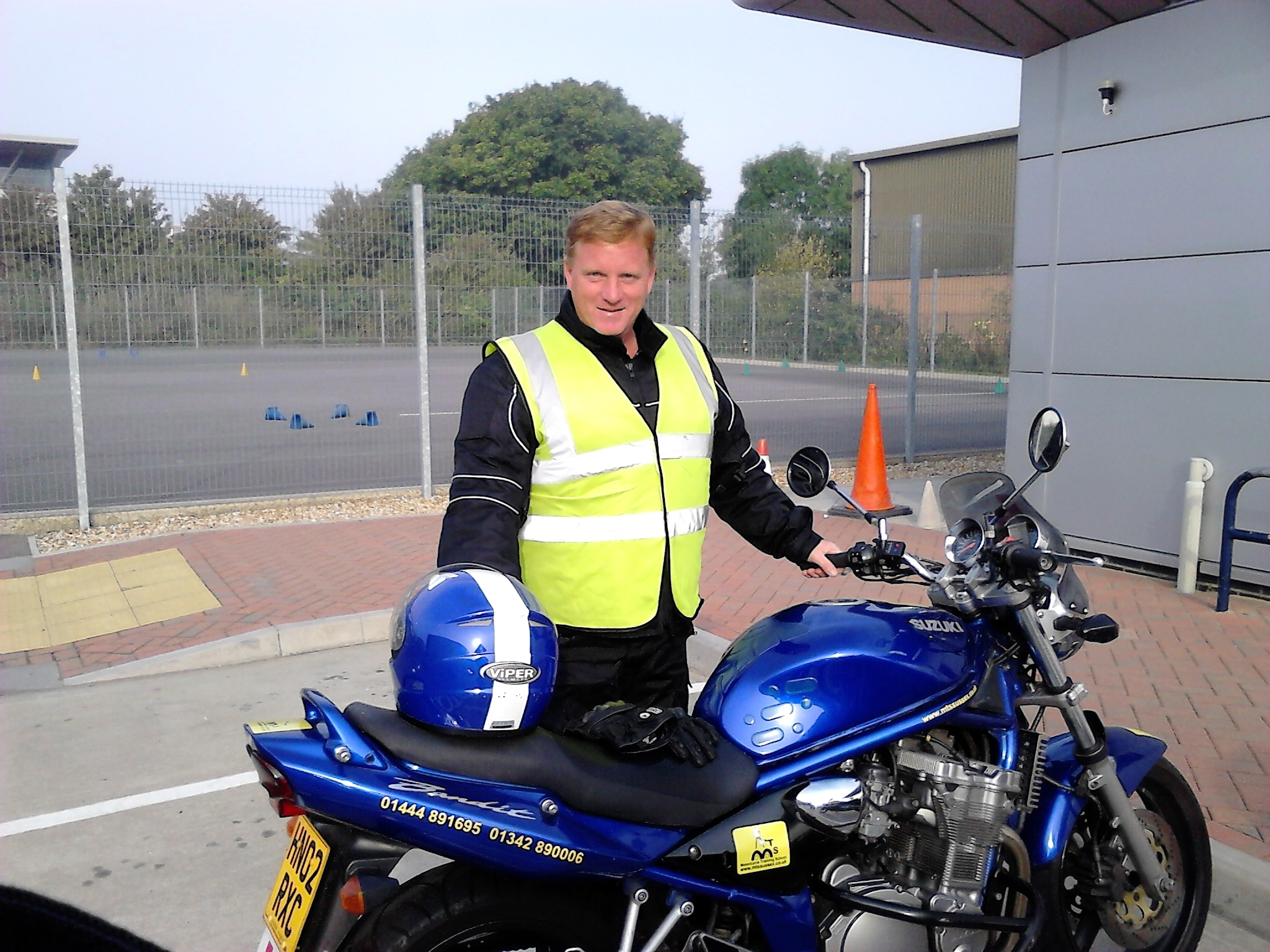 Crowborough blessed with another biker!