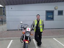 Sussex has a new full motorcycle licence holder!