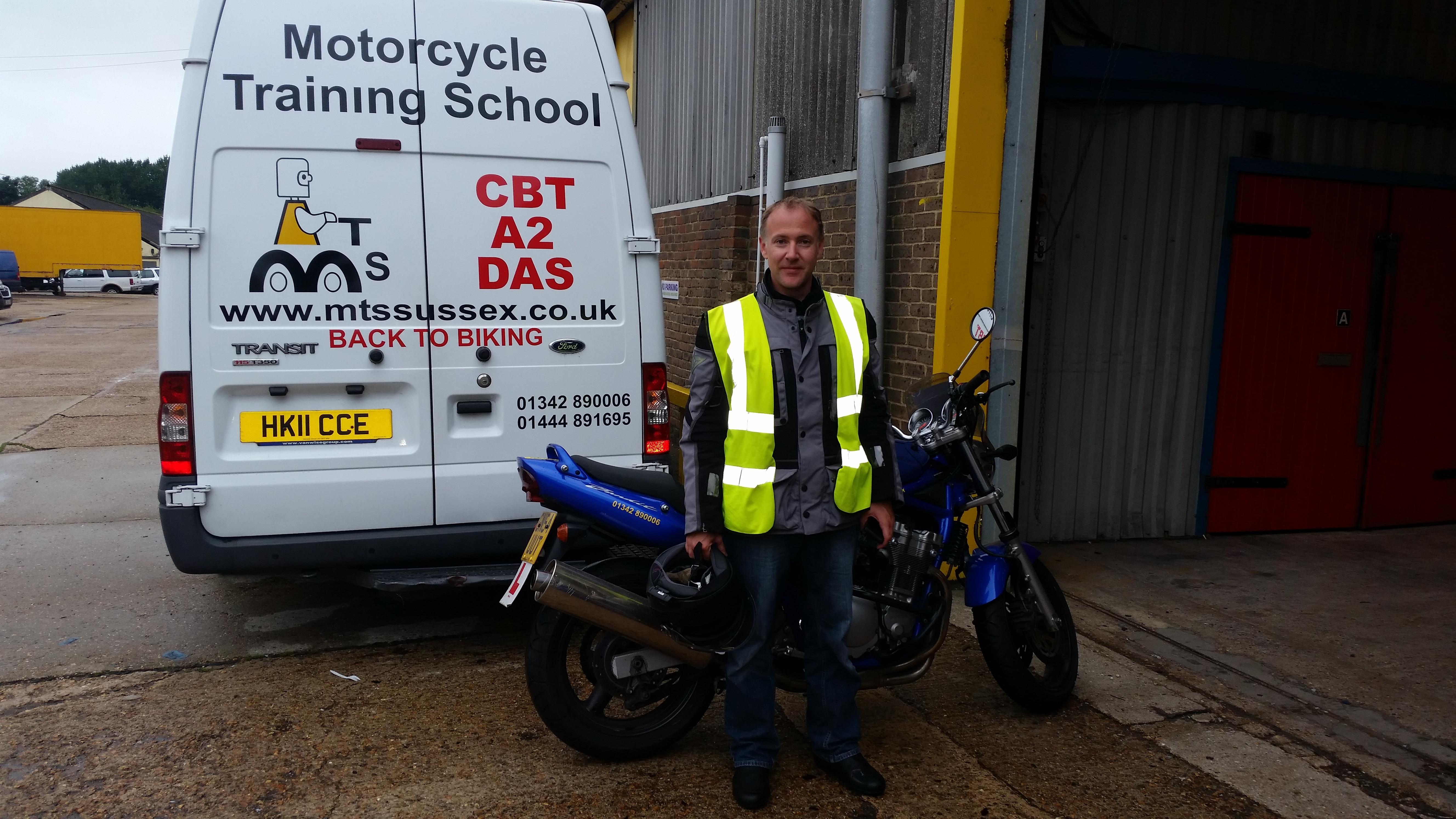 Another Horsham rider passes DAS!
