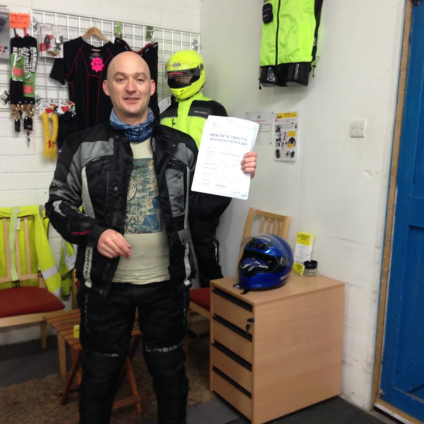 Well done Neil a great DAS pass!