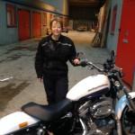 DAS on a Harley Davidson