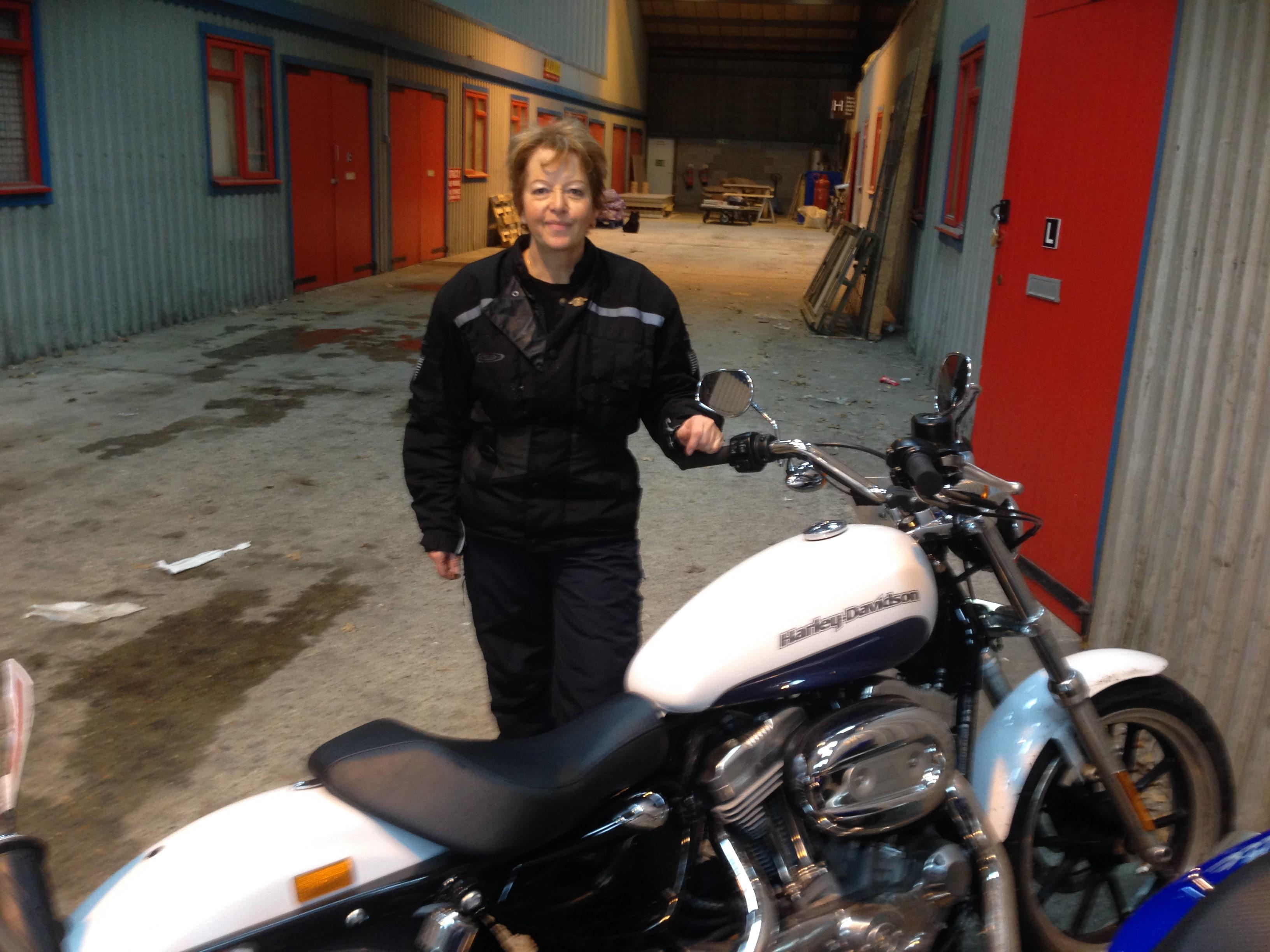DAS on a Harley Davidson!