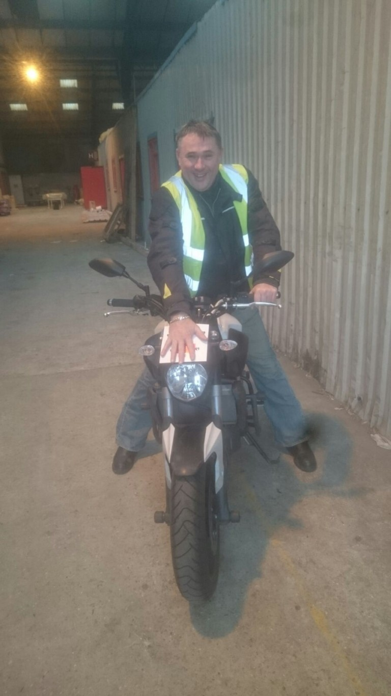 Off with the L Plates for Ivor!!