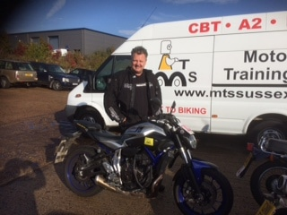 Lee Trimmer adds to the East Grinstead two wheelers!