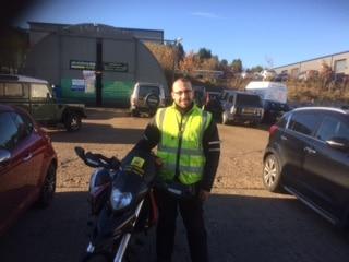 Albert from Redhill passes DAS