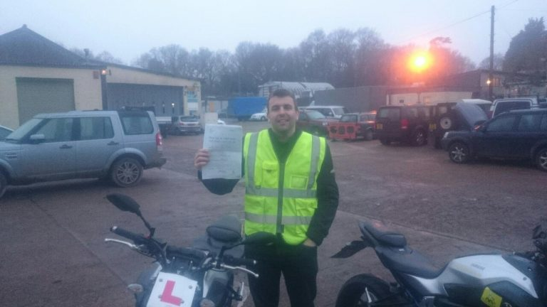 Alun Jones proud to pass!