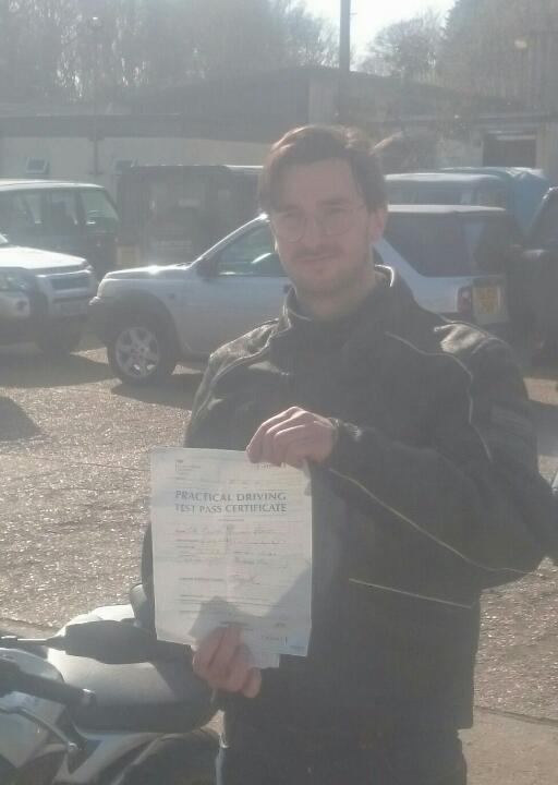 Success for our SE22 rider Oliver Banks