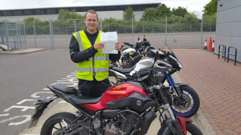 Tim from Tonbridge with a full licence
