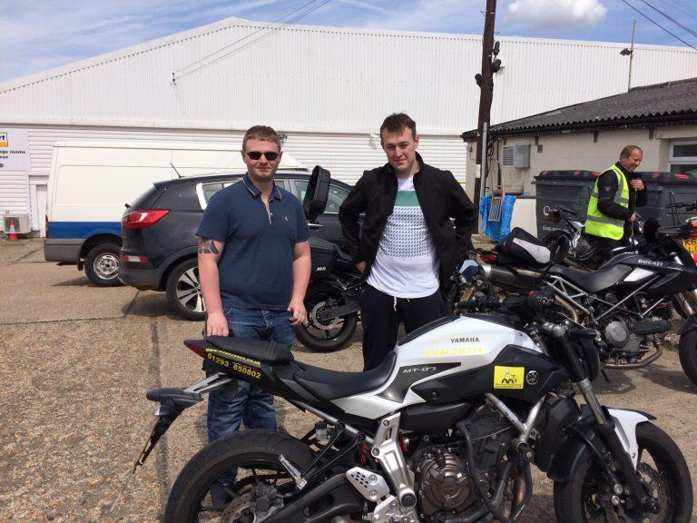 Away ya go boys – Ducati awaits Matt!