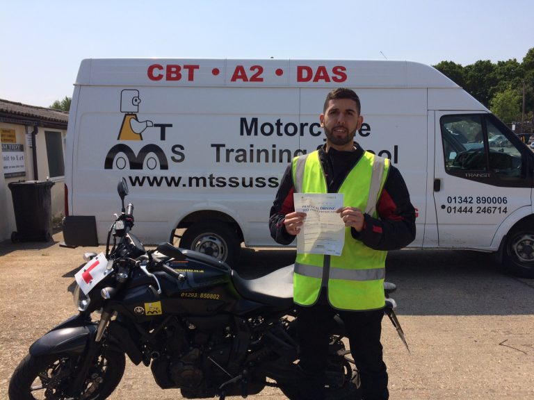 More black beauty success for MTS MT-07's!