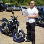 Burgess Hill biker