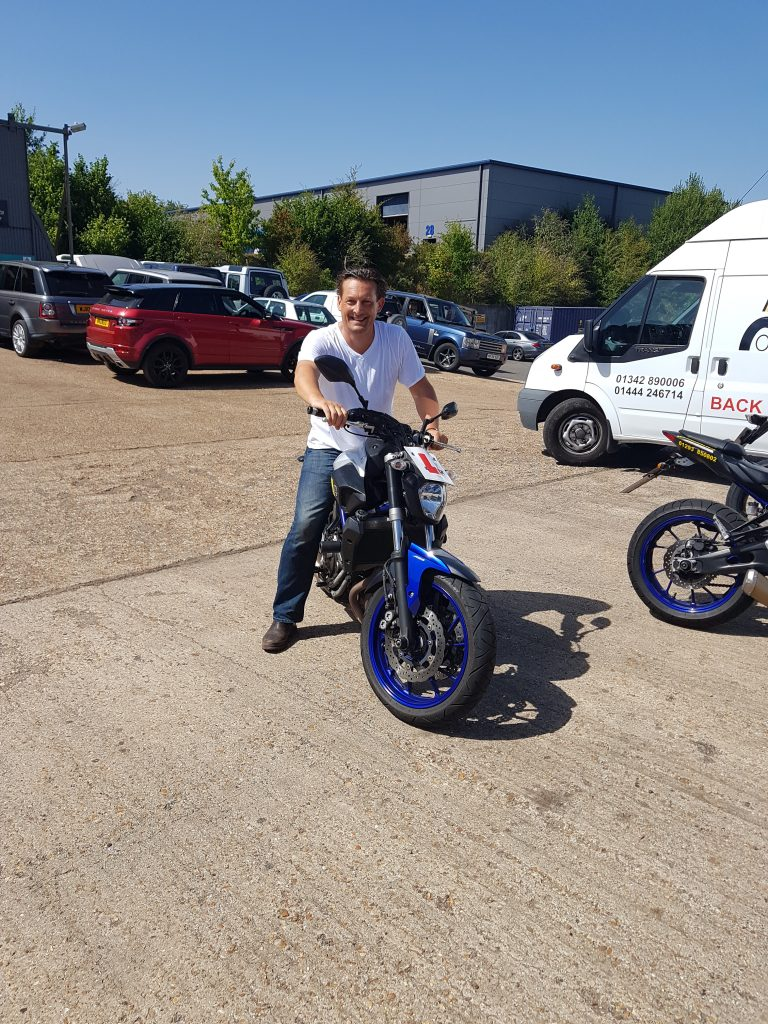 Burgess Hill biker ready to ride through summer
