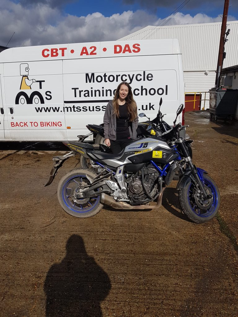 Eastbourne look out – another biker chic on her way!