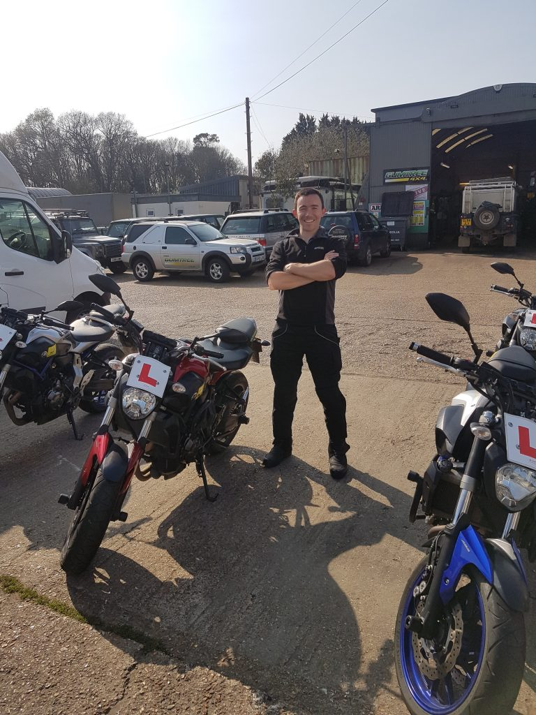 It's no April fools day for James Bell of Horsham