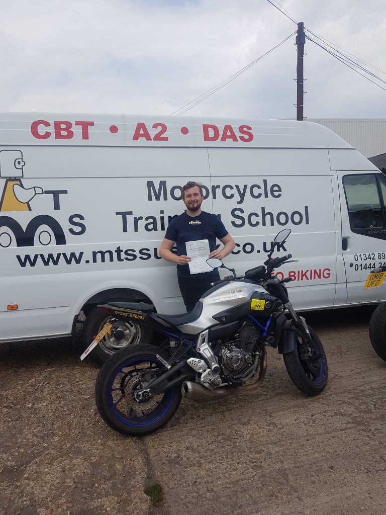 Jack the lad beat the heat with his A2 pass