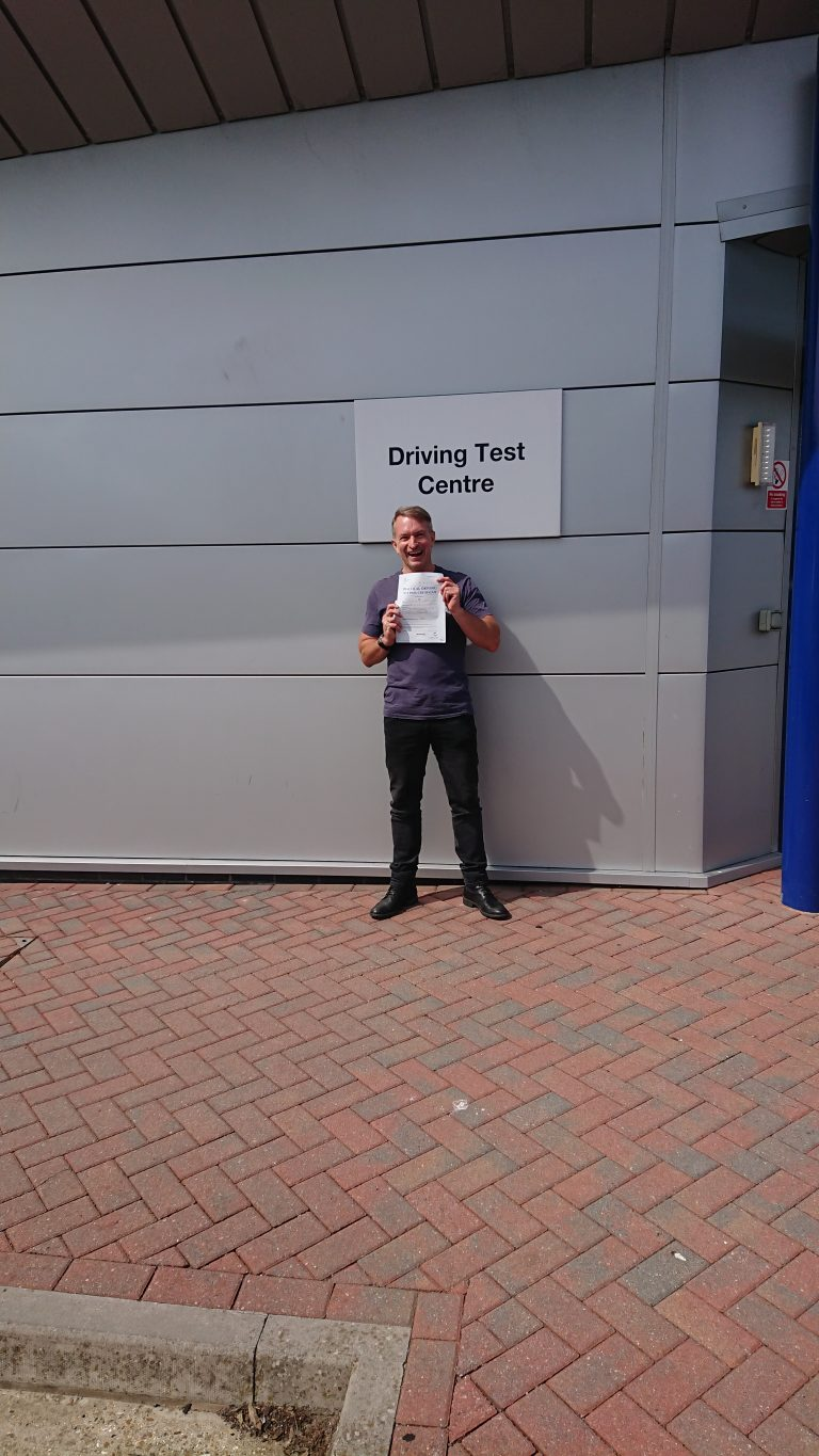 3 days DAS and full licence in the bag!