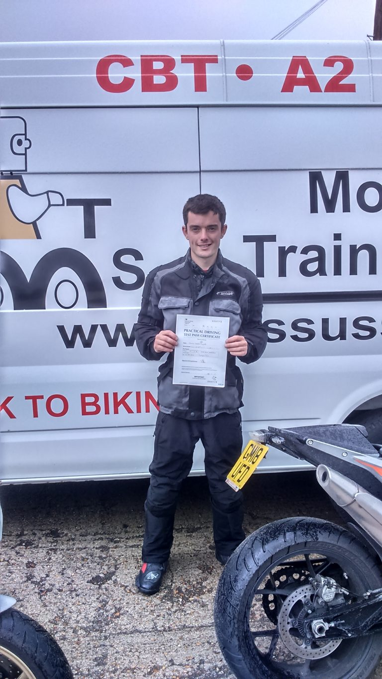 Well done Jamie from Sevenoaks to success!