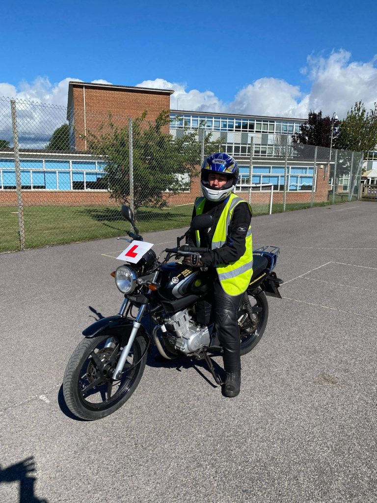 MTS welcome another lady biker to Sussex!