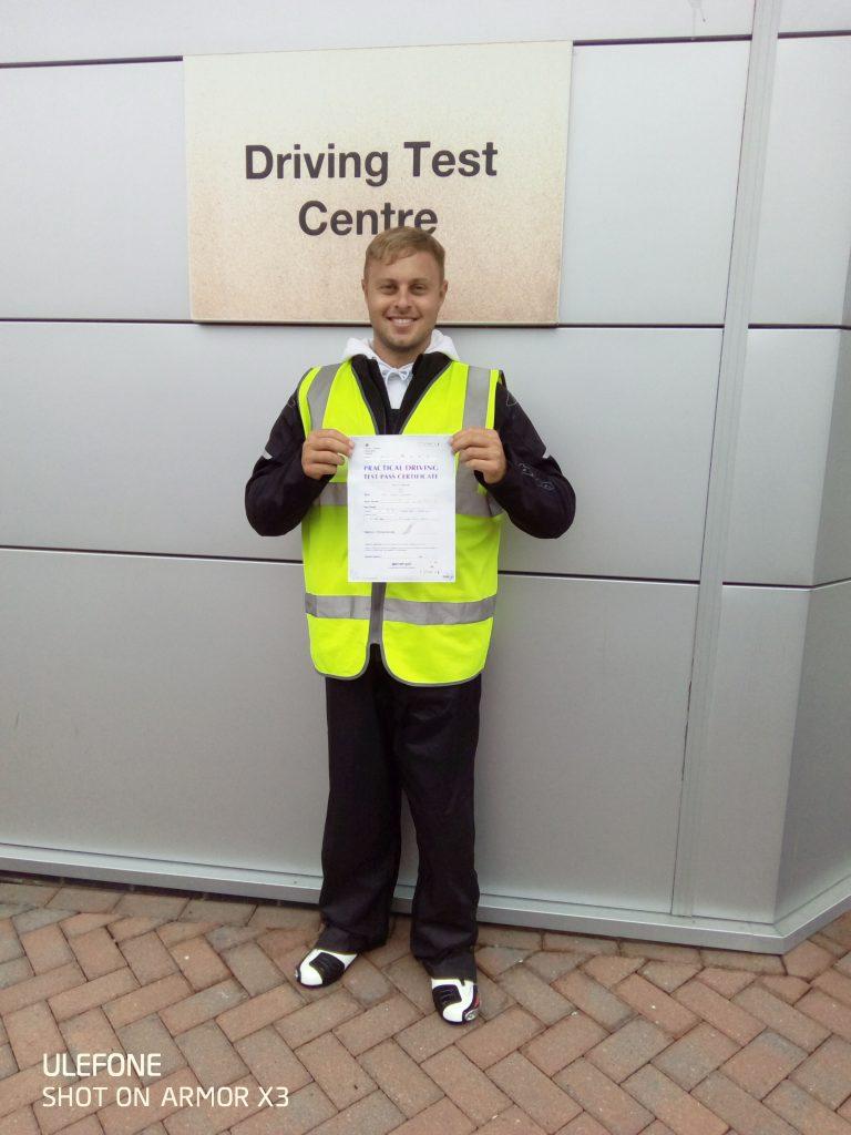Bravo for Bognor Regis rider Luke!