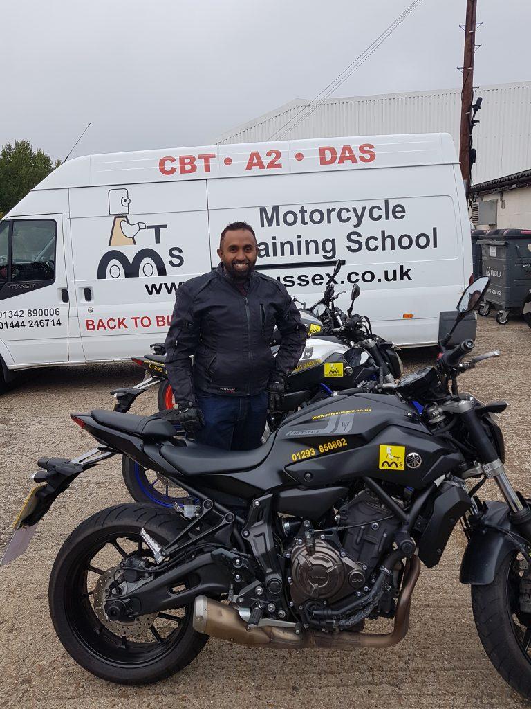 A fab DAS pass for Crawley rider Safeur