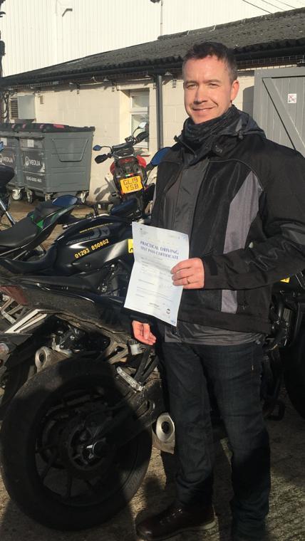 Another DAS success for Brighton rider!