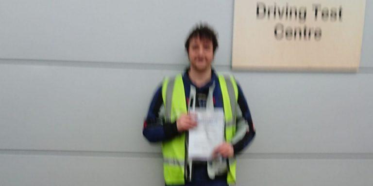 A brilliant DAS pass for David of Brighton