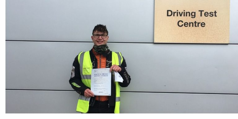 Another perfect pass for MTS student Lee Waterhouse