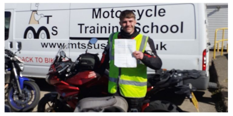 Smiles all round for Shaun of Crawley