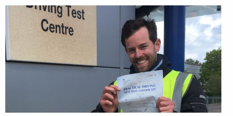 Malcolm from Nutfield passes DAS first time
