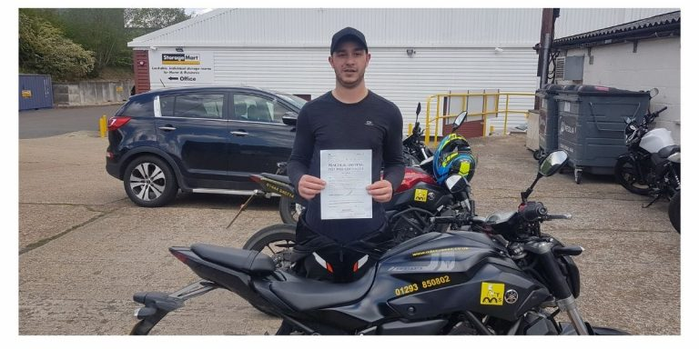 Return to riding and pass DAS in 3 days – fantastic for Luke Poynter