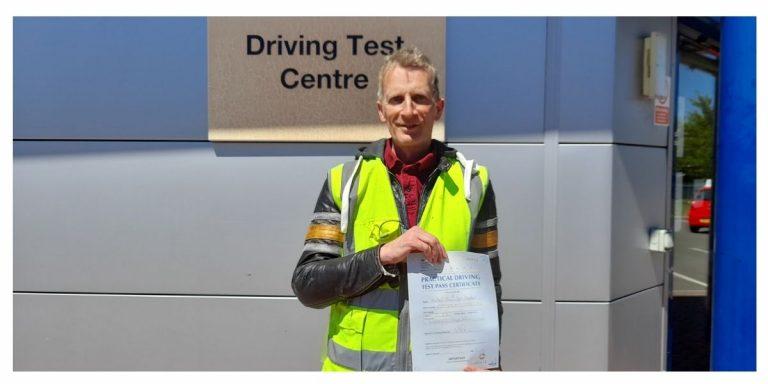 Happy Horsham rider passes DAS