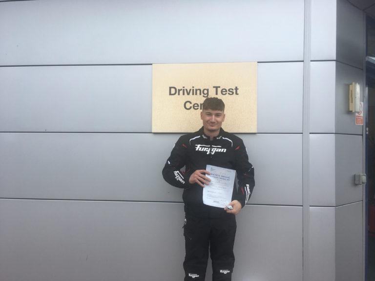Zac Beck-Slinn from Bognor passes  DAS