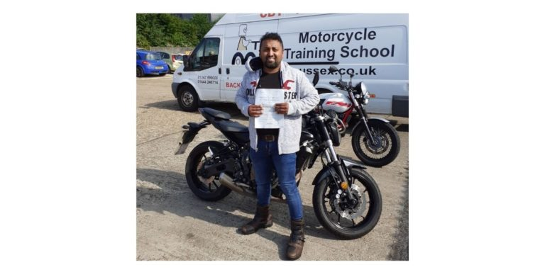 From four wheels instructor to two wheels student!