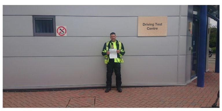 Chris from Crawley passes DAS
