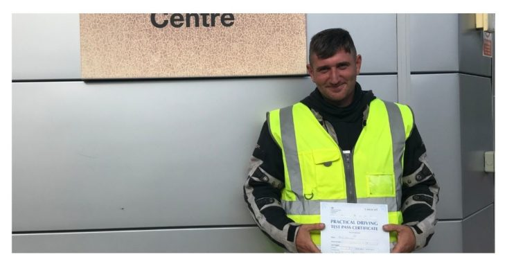 Fred from Burgess Hill passed DAS